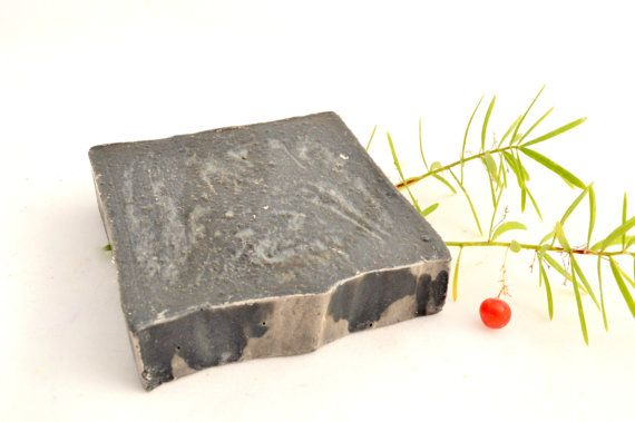 Anti-cellulite Soap. Activated CharcoalRed by NaturalBeautyLine
