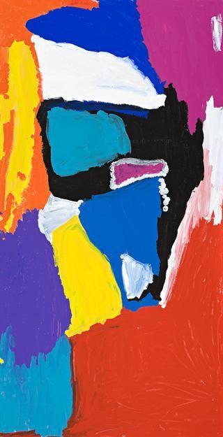 MIRDIDINGKINGATHI JUWARNDA SALLY GABORI (born c1924) DIBIRDIBI COUNTRY, 2006 synthetic polymer paint on linen 196.0 x 101.0 cm inscribed verso: artist's name, size and Mornington Island Arts and Crafts cat. 1800-L--SG-1106 $6,000 - 8,000