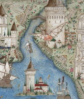 İstanbul'un kuleleri(detay)