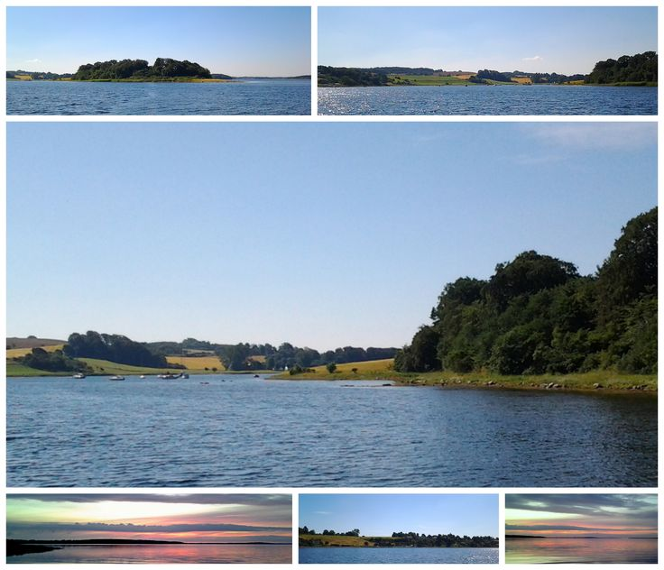 There are lots of pretty anchorplaces in Isefjorden - Zealand - Denmark...