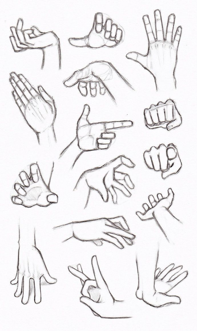 Practices to draw hands made back in summer in my opinion drawing hands is one of the most - Dessin 2 mains ...