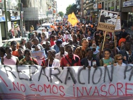 La discriminacion laboral contra la poblacion negra despierta indignacion #Madrid #GlobalNoise