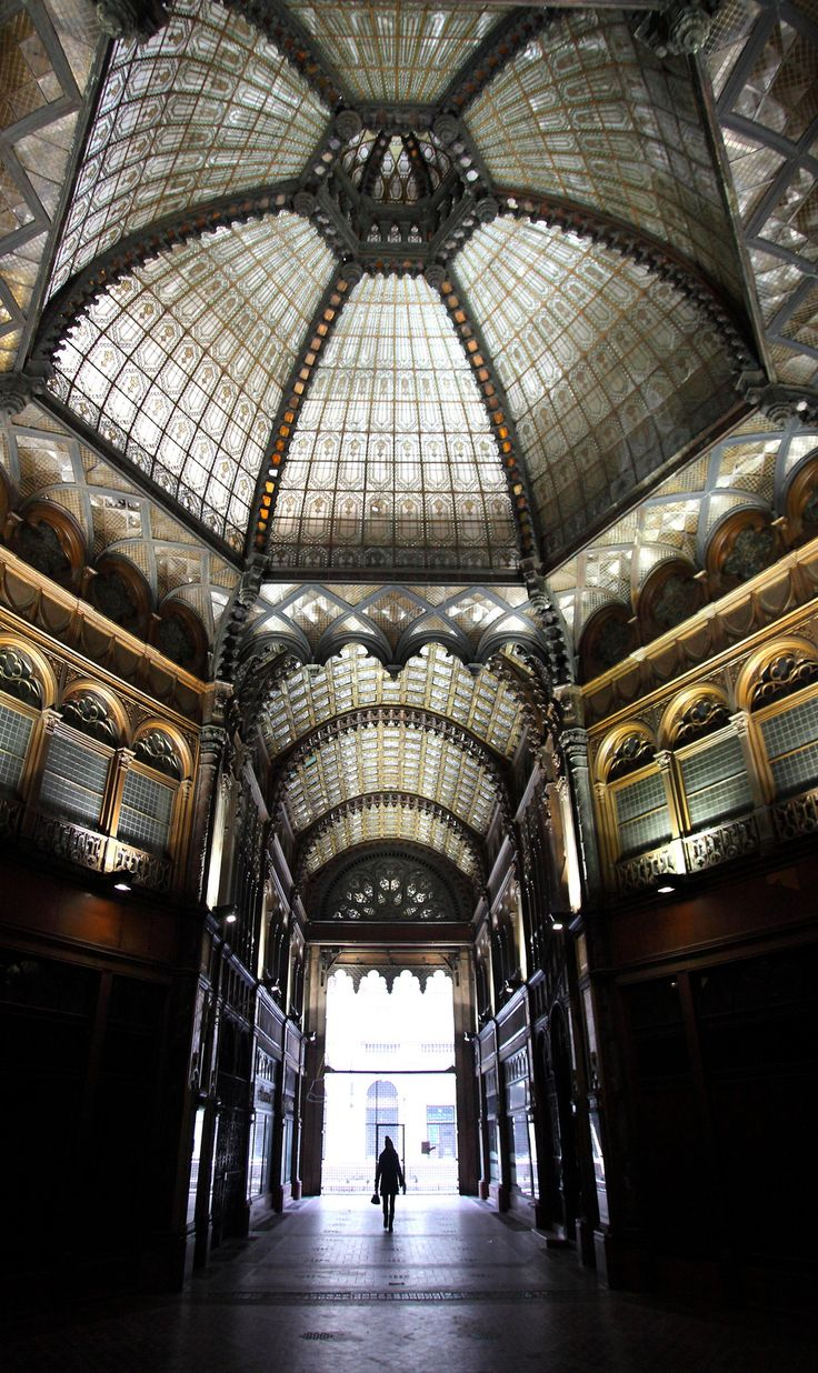 Parisian Arcade -  inside 29 Places That Prove Budapest Is The Most Stunning City In Europe