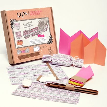DIY bonbon Kit Everything you need to make custom personalised Christmas crackers http://tmod.com.au/product/diy-christmas-cracker-kit