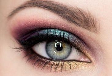 Farebné, jesenné líčenie očí: 10 krokový postup
