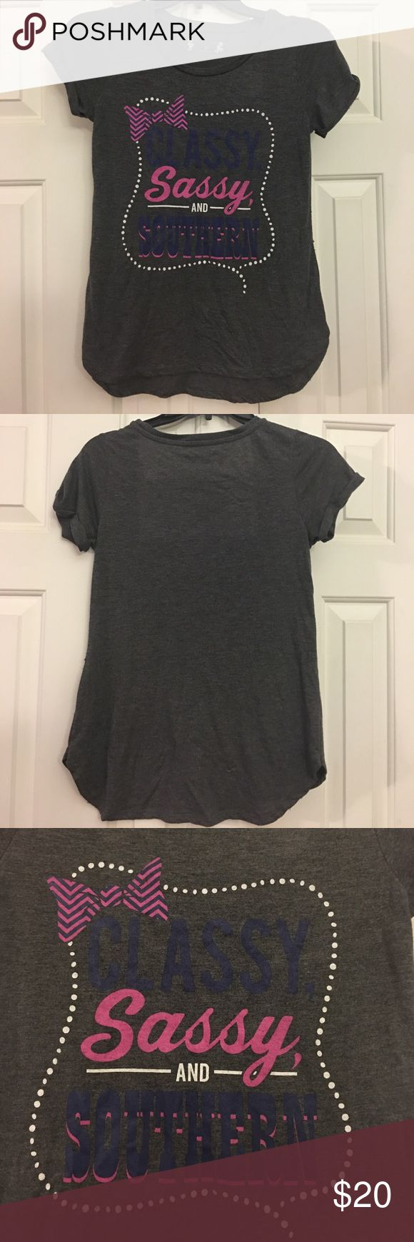Red Camel Tee t shirt Classy Sassy & Southern Super cute tee Small **No Trades** Only Reasonable offers will be considered **sold as is in preowned/ used condition with the expected wear associated with/to preowned used items Red Camel Tops Tees - Short Sleeve