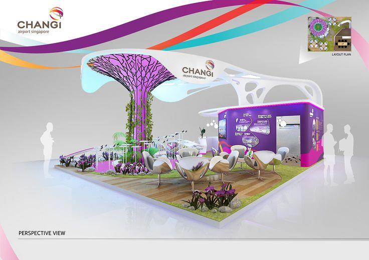 Exhibition Stand Designer Jobs Singapore : Changi airport on behance exhibition pinterest