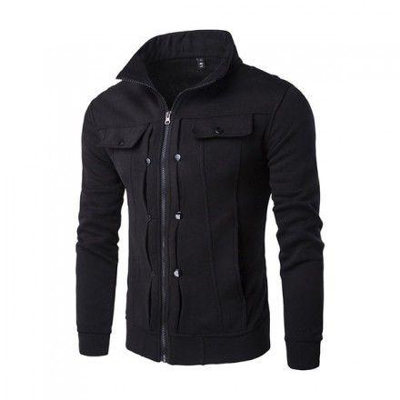 Miesten musta takki