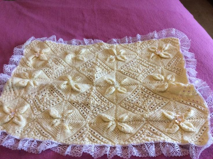 Baby blanket - Knitting creation by Traceyoc   Knit.Community