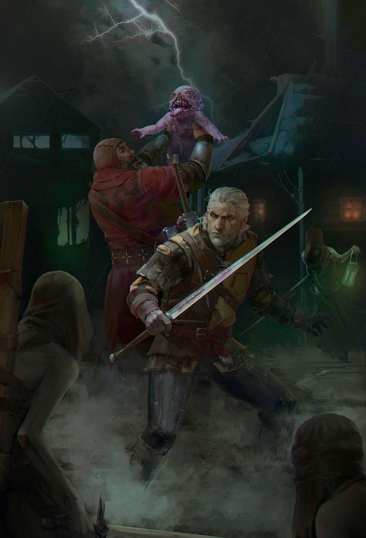 Geralt et le baron sanglant the witcher 3