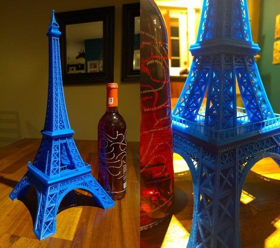 Eiffel Tower #SeeTheWorld 3D Print 6912