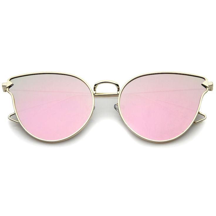 Fashion Trend Glasses Retro Ring Arrow Arrow Lunettes de Soleil , Cadre Violet / Rose Translucide
