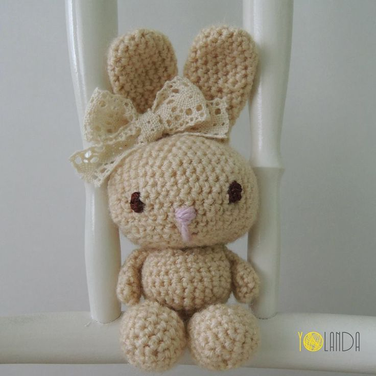 Bunny. Crochet. Handmade. Toy. Kids.