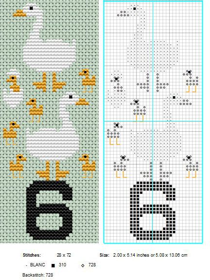 6 Geese A Laying by ~NevaSirenda on deviantART 12 Days of Christmas cross stitch