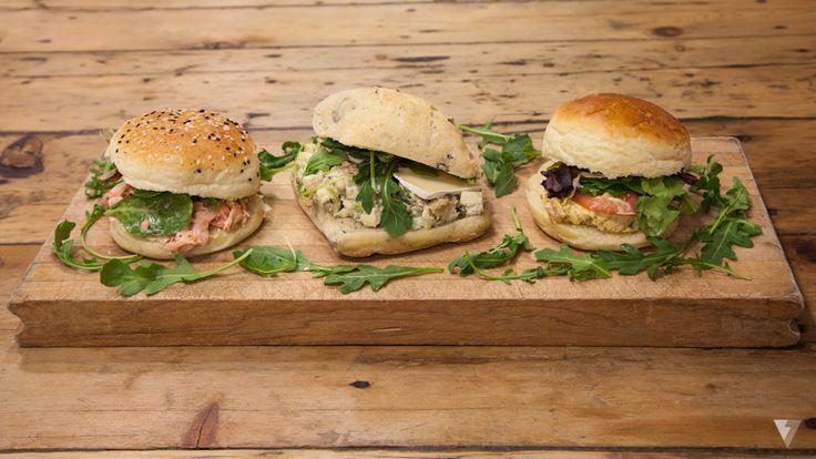 Des sandwishs frais du jour tous les jours!