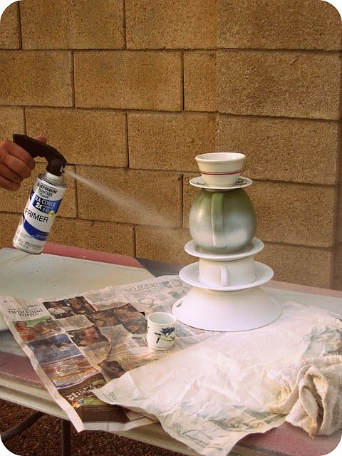 This tutorial of making a teapot lamp is very detailed.