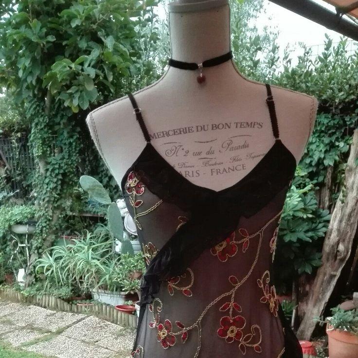 Sensuale Babydoll lingerie dark chic vintage