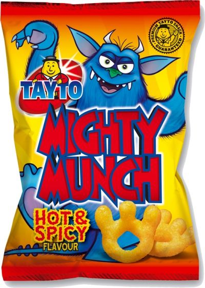Food Ireland Tayto Mighty Munch 26g (0.9oz) 12 Pack