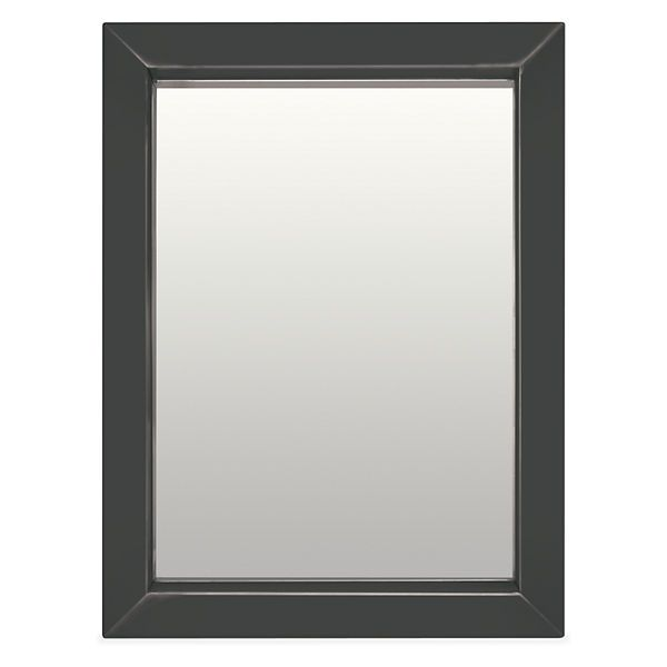 Foyer >> Room & Board - Industry 30x40 Mirror. I like the idea of a contemporary framed mirror above your console.