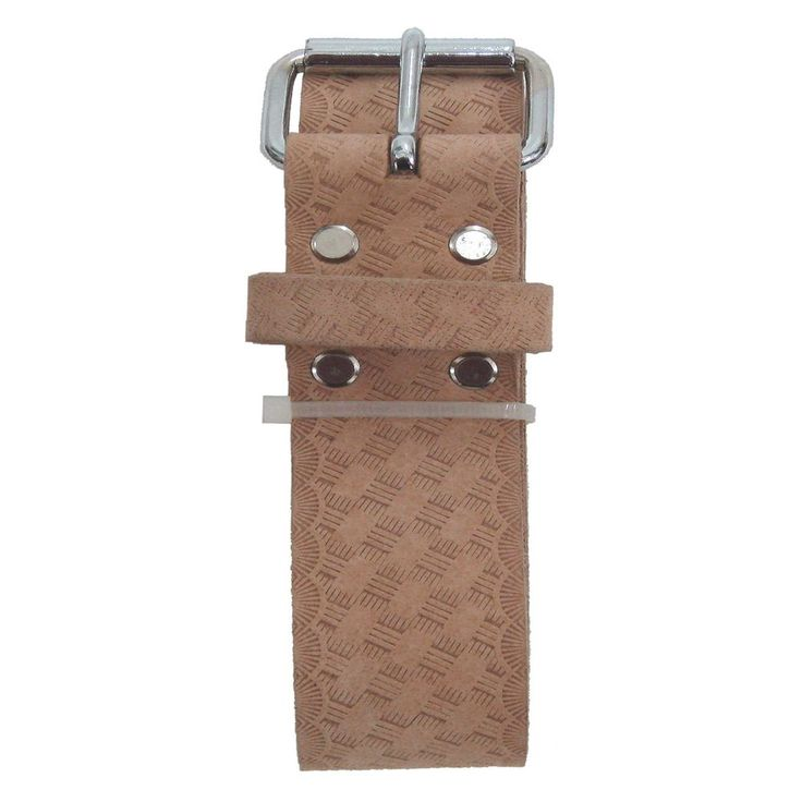 "Style n Craft 94054L - 2"" Work Belt in Embossed Heavy Top Grain Leather #StylenCraft #EmbossedLeatherToolBeltExtraLarge"
