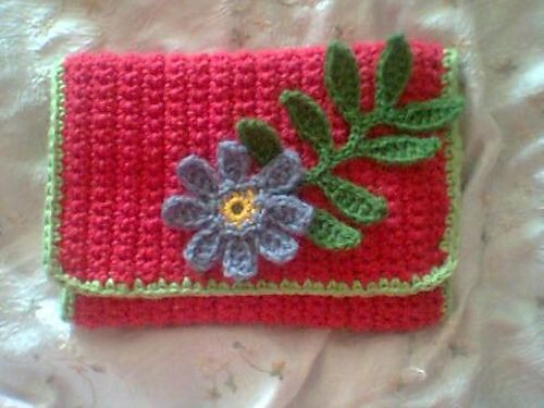 Crochet Hook Case  ~ free pattern via Ravelry
