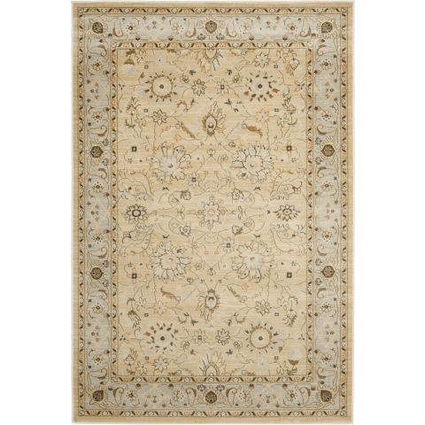 Columbus Area Rug in Ivory and Grey - Casafina