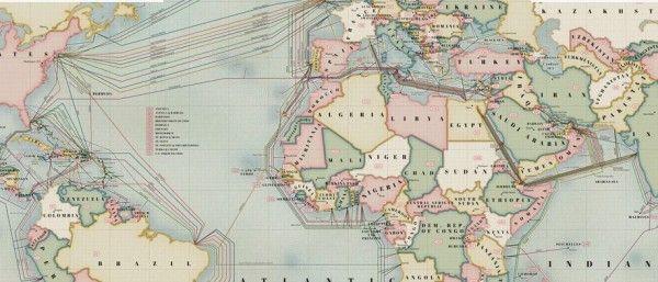 Los #cables de #Internet sumergidos, ahora en un #mapa #interactivo