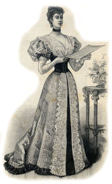 Location robe de bal 1900