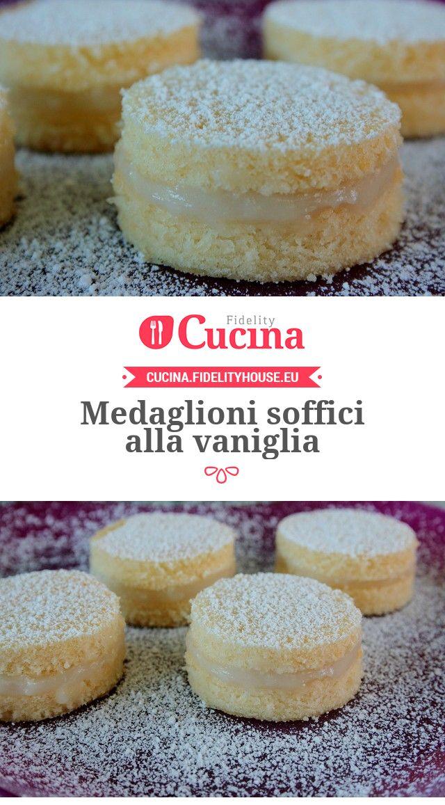 Medaglioni soffici alla #vaniglia della nostra utente Sanny. Unisciti alla nostra Community ed invia le tue ricette!