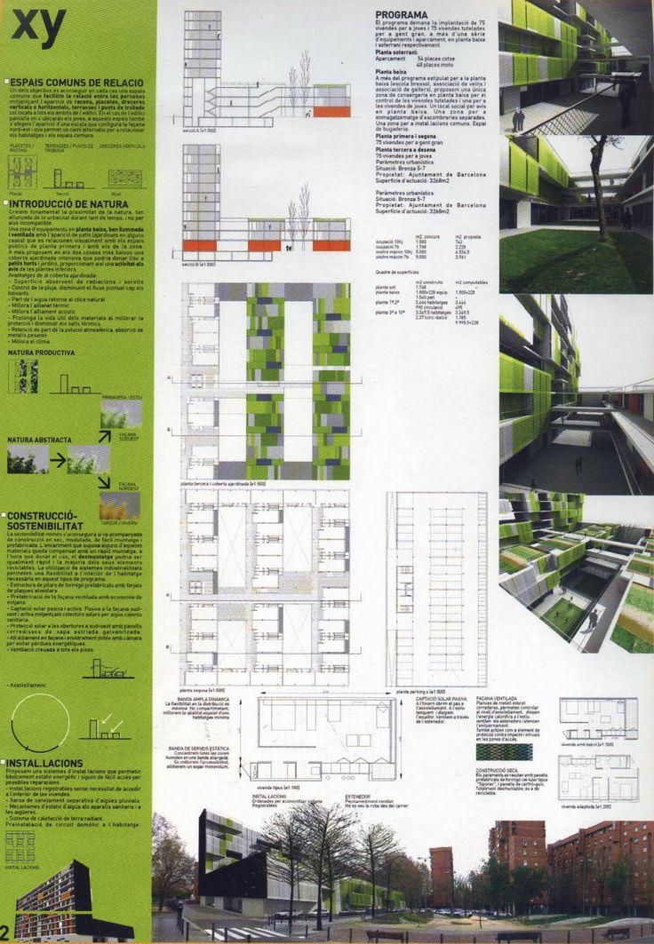 1000 ideas sobre laminas de presentacion arquitectura en for Laminas arquitectura