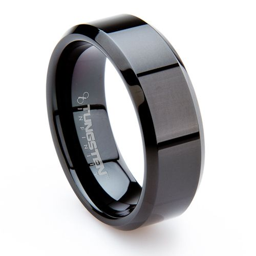 mens wedding rings men s tungsten ferrara for him 5811