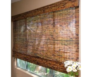 Bamboo Roman shades - great prices!