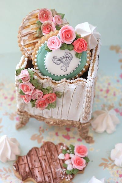 Sweet Box cookie by Jackie Rodriguez| Cookie Connection