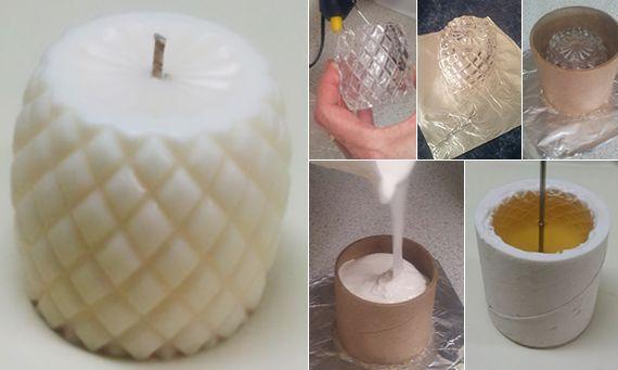 Silikonformen Herstellen Fur Coole Diy Kerzen Diy Kerzen