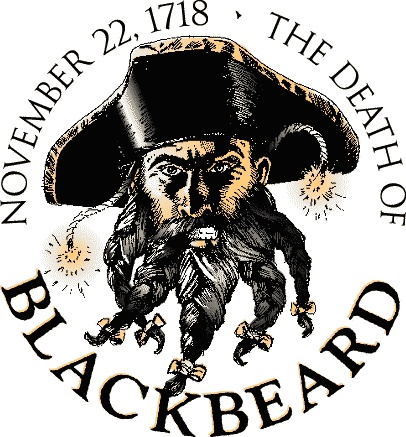 November 22, 1718, Edward Teach, more infamously known as 'Blackbeard the Pirate' fought his last battle.