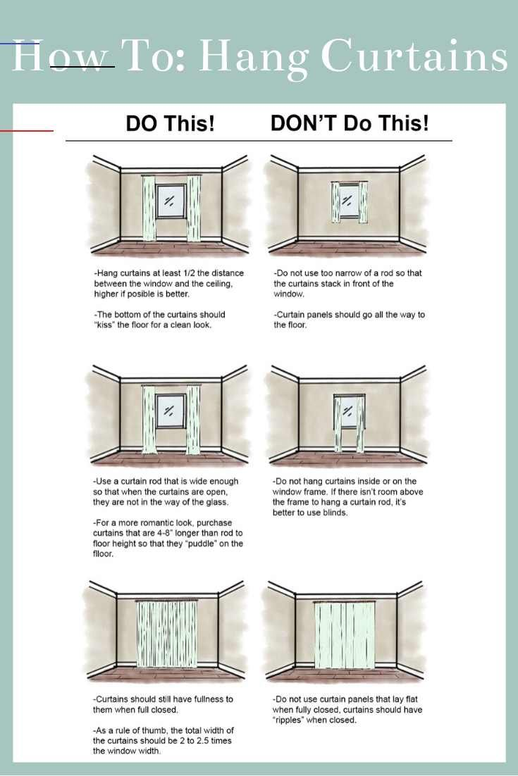 How To Select The Proper Sized Curtains For Your Space Windowtreatments Use This Guide To Help You Select The R Wohnung Vorhänge Wohnung Streichen Wohnung