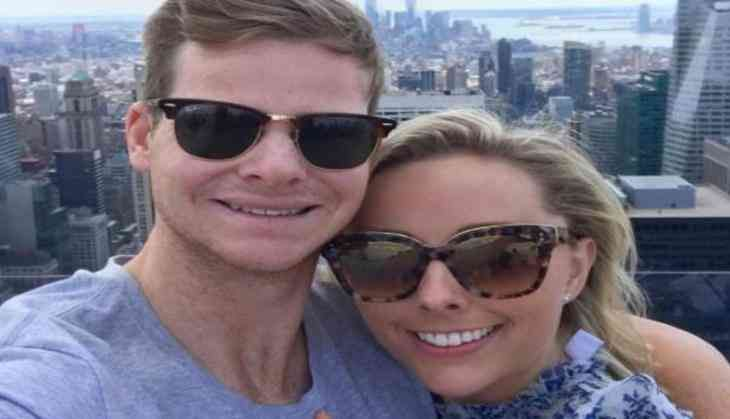 A 28-year-old Australia Cricket Player Steve Smith on Wednesday got engaged to his girlfriend Dani Willis after proposing to her in style, by getting down on one knee atop an observation deck in New York City.   #Australia Cricket Player Steve Smith #Big Bash #Dani Willis #instagram #New York #Smith and Willis #steve smith #Steve Smith girlfriend Dani Willis #Steve Smith posted a picture #T20 league #united states
