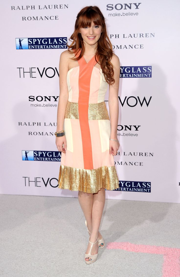 It up bella thorne sports a grown up look in elegant peplum dress - Bella Thorne Dresses Photos Popstar Dress Of The Day Bella Thorne In