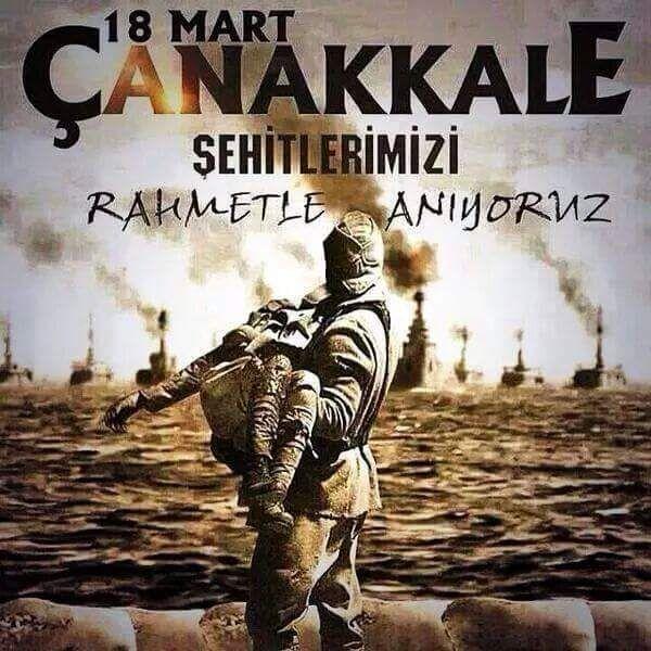 18 Mart Çanakkale Deniz Zaferi ve Şehitleri Anma Günü , ÇANAKKALE GEÇİLMEZ !  #Tam100YılÖnce #CanakkaleGecilmez