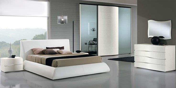 Upholstered Italian Bed Dali by SPAR - $2,985.00