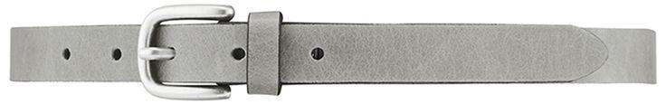 11012 narrow belt, 2 cm, grey.