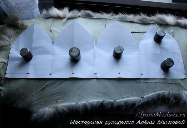 Как сшить шапку из меха лисы . Мастер-класс