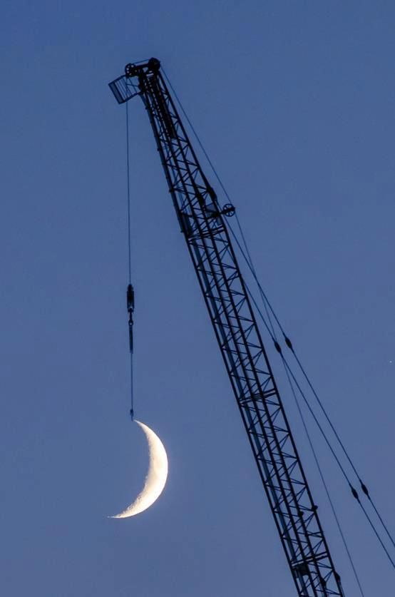 Rehanging the moon