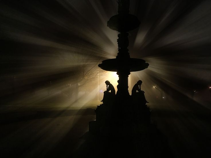 Clinton Ma. Central Park Fountain