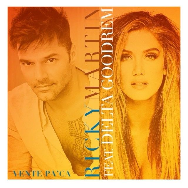 "My dear friend @ricky_martin and I, got together to record a special version of ""Vente Pa' Ca""  Download link in my bio"