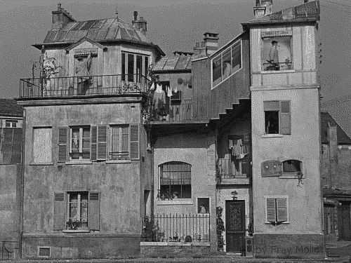 L'univers de Jacques Tati vaut bien un GIF | The Creators Project