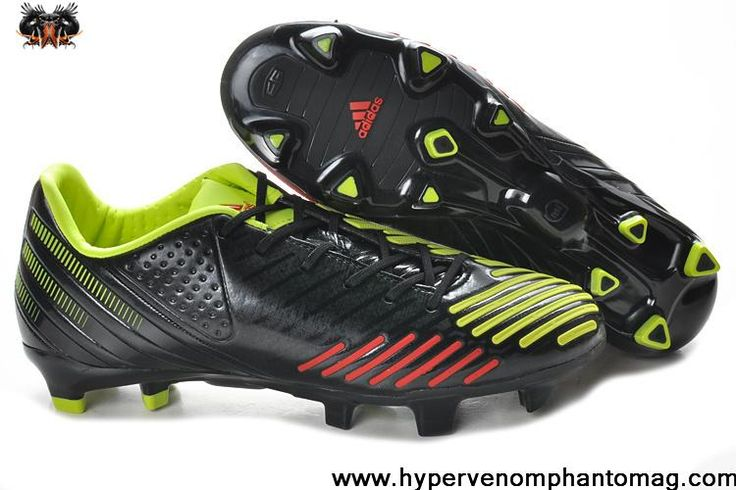 Adidas Predator LZ TRX FG - Black-Infrared-Electricity(V21212) Football Shoes For SaleFootball Boots For Sale