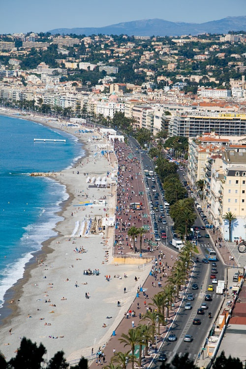 Promenade des Anglais, Nice, France. So beautiful. Check!