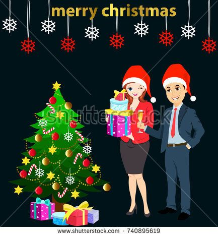 christmas party celebration at office