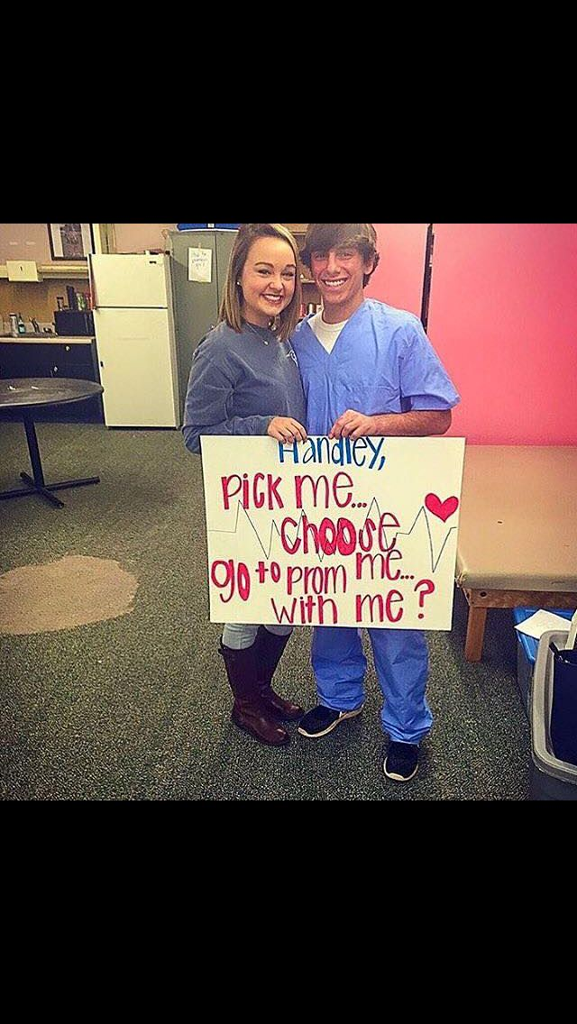 Grey's anatomy prom proposal